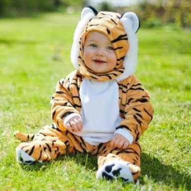 Baby tiger kostume - Travis Designs