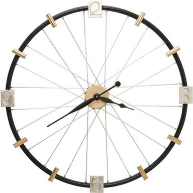 KARE DESIGN Vægur, Spoke Wheel 80 cm