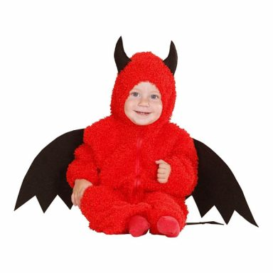 Little Devil Baby Kostume - Small