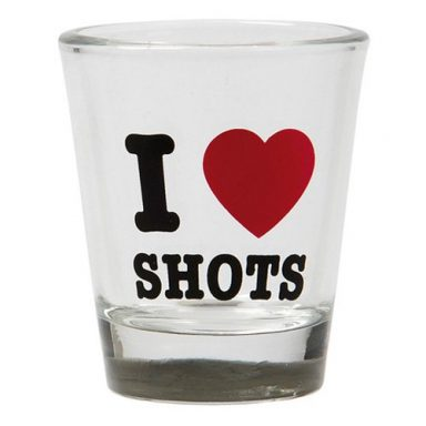 Shotglas I Love Shots