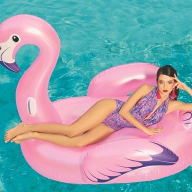 Badedyr Fashion ''Flamingo Luxury'' 173 x 170 cm