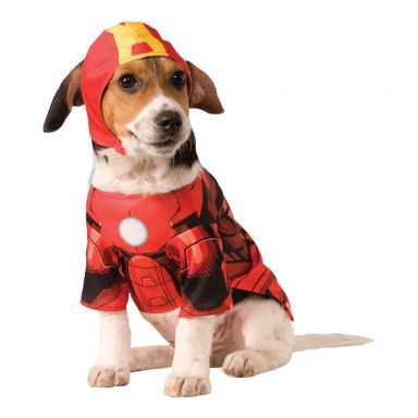 Iron Man Hund Kostume - Small